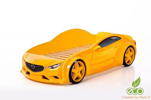 Кровать-машина Мазда EVO МебеЛев (цвет Желтый)