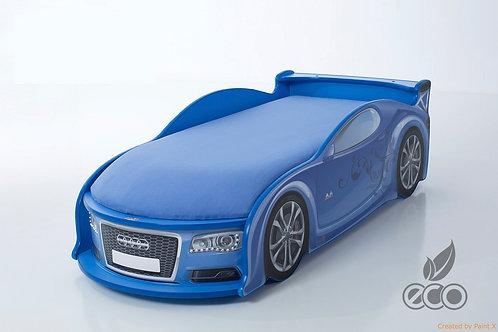 Кровать-машина Ауди А4 серия UNO (цвет Синий)