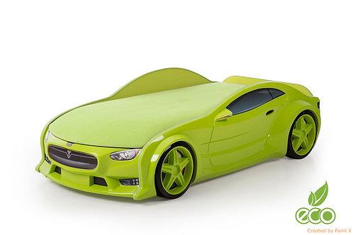 Кровать-машина ТЕСЛА серия NEO (цвет Зеленый)