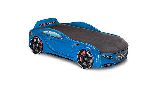 Кровать-машина Romack Junior Мерседес (синий)