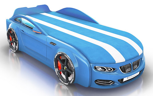 Romack кровать-машина Real-М БМВ (цвет голубой)