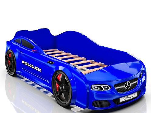 Romack кровать-машина Real Мерседес (цвет синий)