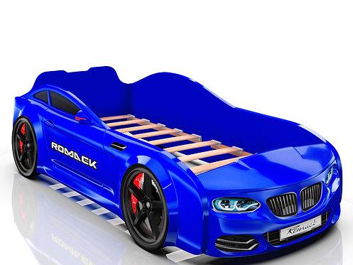 Romack кровать-машина Real БМВ (цвет синий)