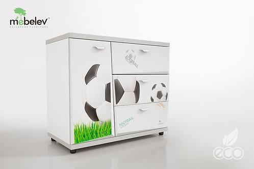 Комод Z3 МебеЛев (Декор Футбол)