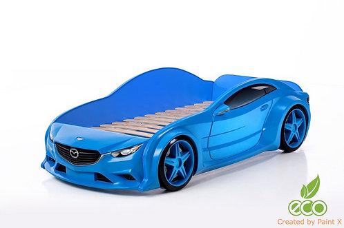 Кровать-машина Мазда EVO МебеЛев (цвет Синий)