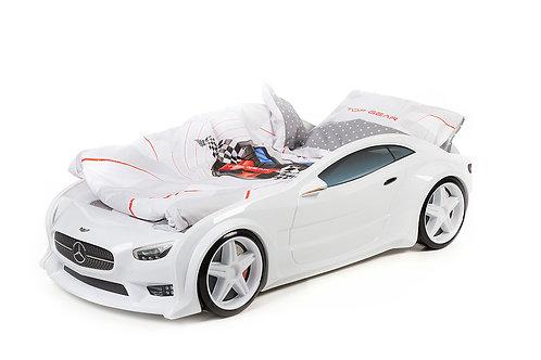 Комплект постельного белья для кровати-машины БЕЛЫЙ