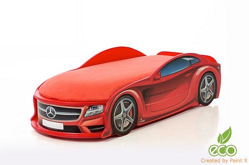 Кровать-машина Мерседес серия UNO (цвет красный)