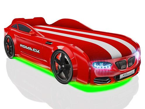 Romack кровать-машина Real-М БМВ (цвет красный)