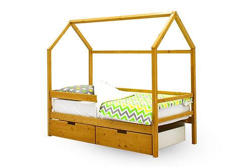 """Детская кровать-домик Бельмарко """"Svogen дерево"""" (00675)"""