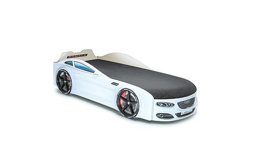 Romack кровать-машина Real-М Ауди (цвет белый)