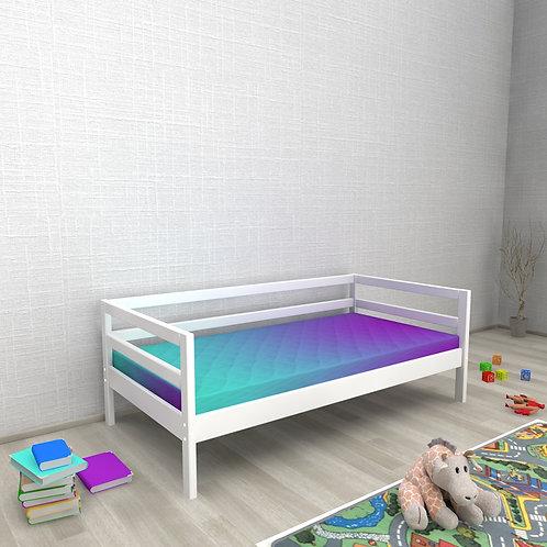 Детская кровать Авеньён (кровать-домик без крыши) БЕЗ БОРТИКА Цвет: БЕЛЫЙ