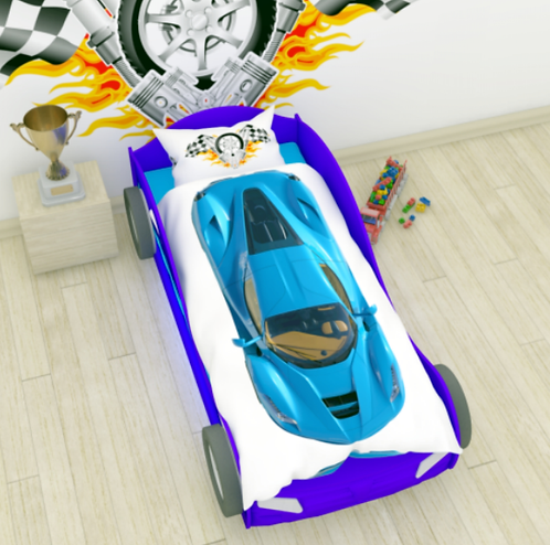 "NEWTONE комплект ""Голубая гоночная машина"" арт.2354"