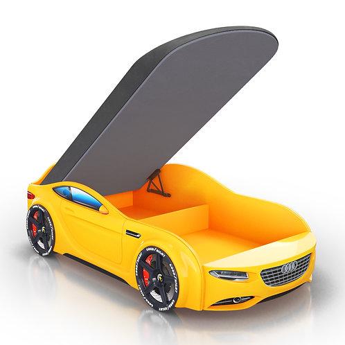 Кровать-машина Romack Junior Ауди (желтый)