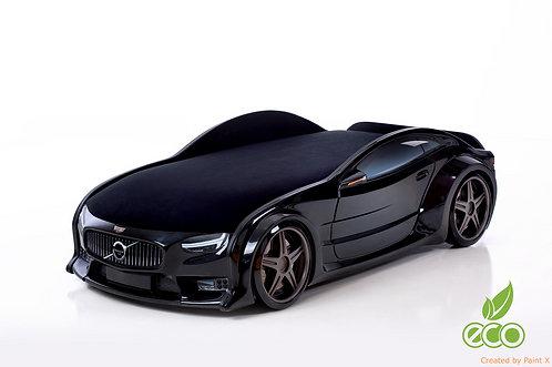 Кровать-машина ВОЛЬВО серия NEO (цвет Черный)