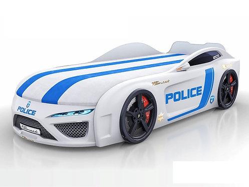 кровать-машина Romack Dreamer-M полиция (цвет белый)