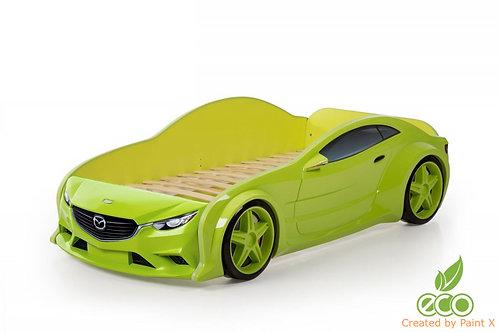 Кровать-машина Мазда EVO МебеЛев (цвет Зеленый)