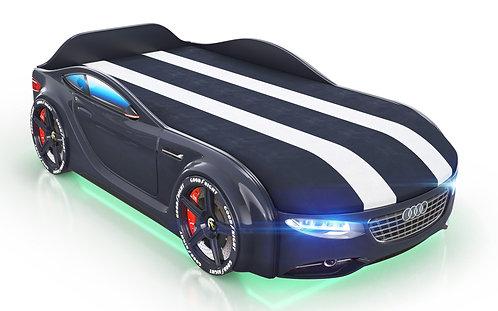 Кровать-машина Romack Junior Ауди (черный)