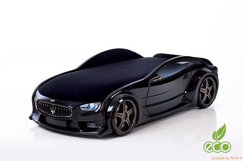 Кровать-машина МАЗЕРАТИ серия NEO (цвет Черный)
