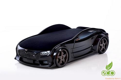 Кровать-машина БМВ серия NEO (цвет Черный)