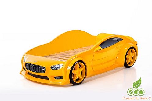 Кровать-машина БМВ EVO МебеЛев (цвет Желтый)