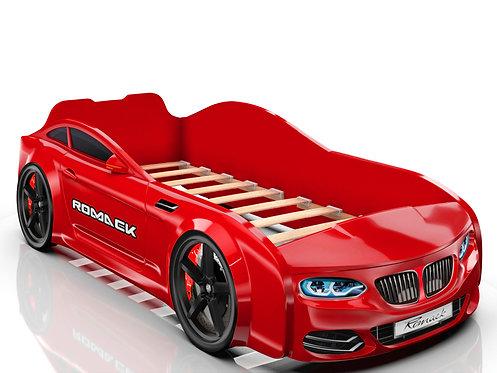 Romack кровать-машина Real БМВ (цвет красный)