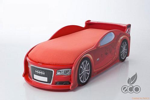 Кровать-машина Ауди А4 серия UNO (цвет Красный)