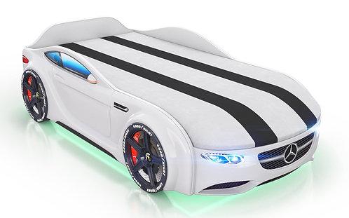 Кровать-машина Romack Junior Мерседес (белый)