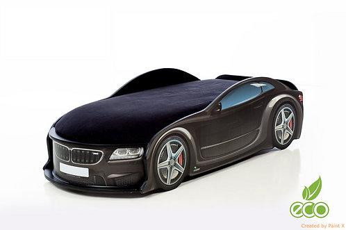 Кровать-машина БМВ серия UNO (цвет чёрный)