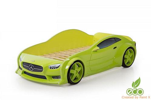 Кровать-машина Мерседес EVO МебеЛев (цвет Зеленый)