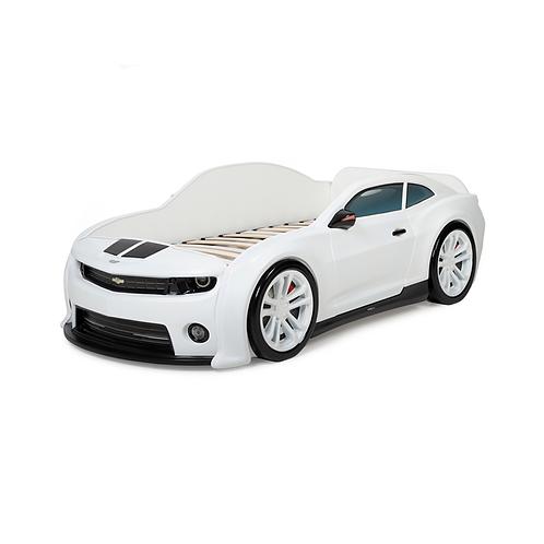 Futuka Kids кровать-машинка объемная (3d) EVO Camaro (белый)