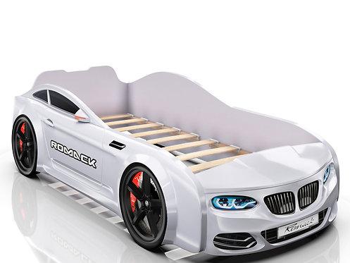 Romack кровать-машина Real БМВ (цвет белый)