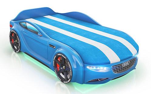 Кровать-машина Romack Junior Ауди (синий)