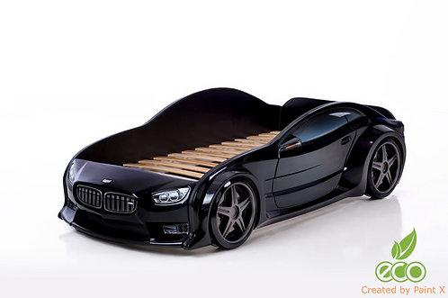 Кровать-машина БМВ EVO МебеЛев (цвет Черный)