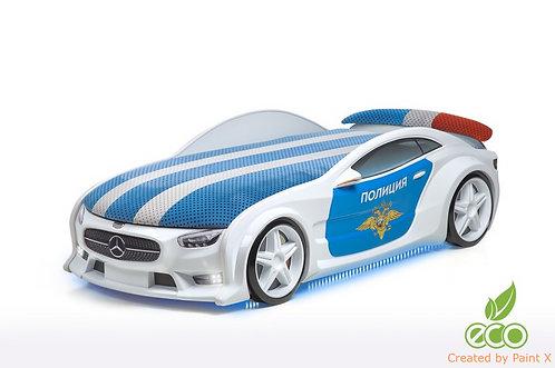 Кровать-машина Мерседес серия NEO (цвет Полиция)