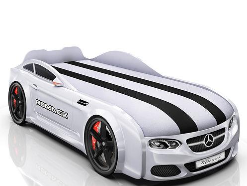 Romack кровать-машина Real-М Мерседес (цвет белый)