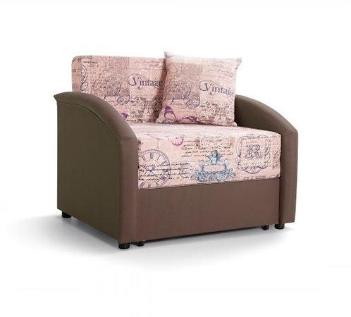 Акция! Ф-ка Мирлачева недорогой диван в детскую Даня (принт фьюжн мэри)