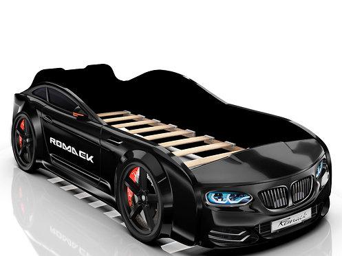 Romack кровать-машина Real БМВ (цвет черный)