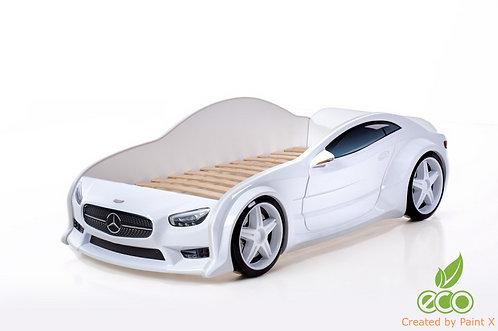 Кровать-машина Мерседес EVO МебеЛев (цвет Белый)