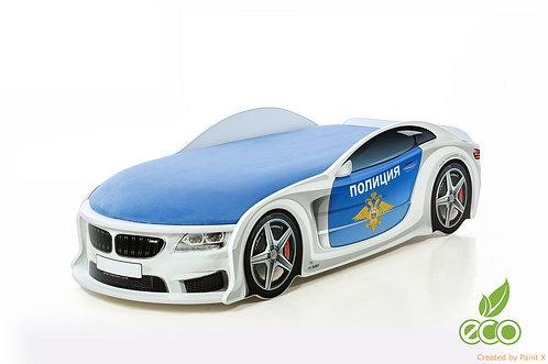 Кровать-машина БМВ серия UNO (цвет полиция)