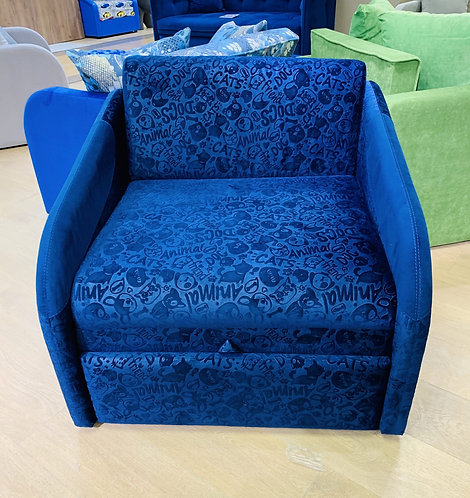 Klюkva диван SMART (FLAFFY синий)