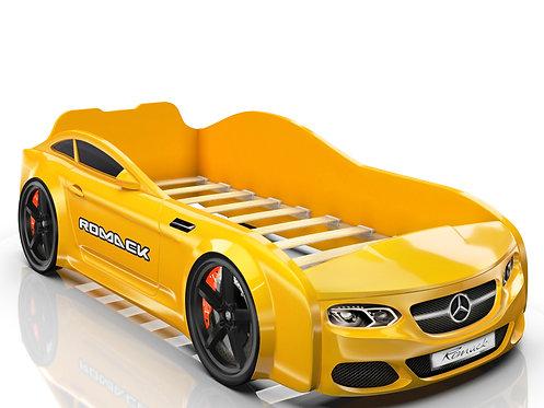 Romack кровать-машина Real Мерседес (цвет желтый)