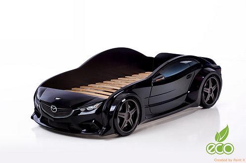 Кровать-машина Мазда EVO МебеЛев (цвет Черный)