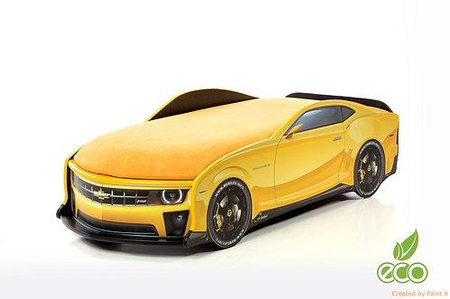 Кровать-машина Камаро серия UNO (цвет желтый)