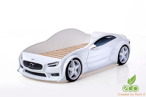 Кровать-машина Вольво EVO МебеЛев (цвет Белый)