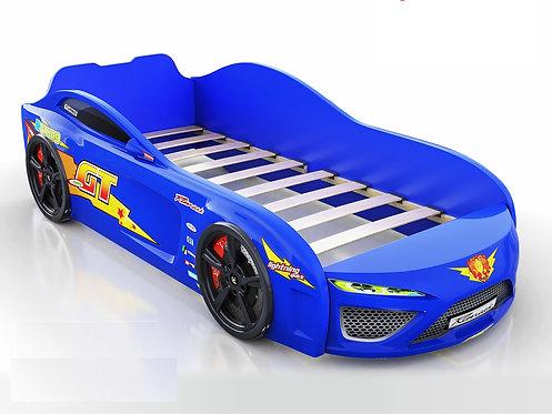 кровать-машина Romack Dreamer синяя молния