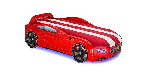 Кровать-машина Romack Junior Ауди (красный)