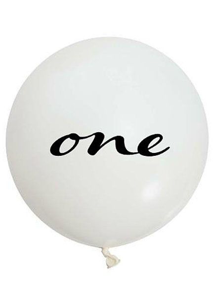 "THE ONE - 36"" Milestone Balloon Collection"