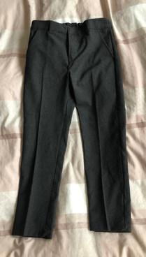 Boys Grey School Trousers Age 6-7