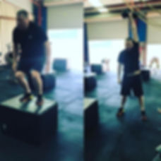 Gav has been doing crossfit for about 3-4 months...this is gavs first ever CrossFit open...jpg