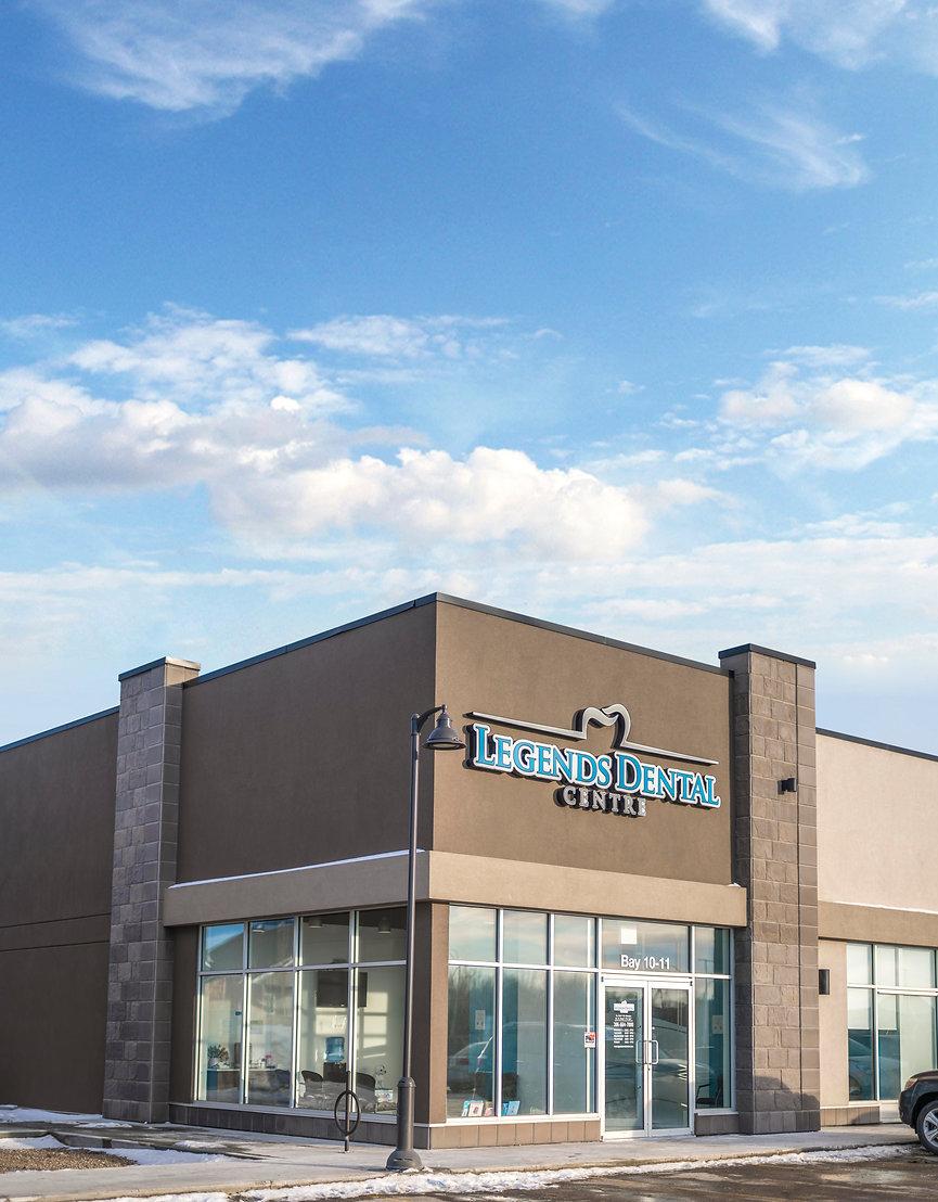 exterior of Legends Dental Centre